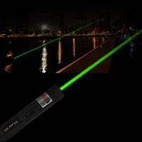 Pointeur laser puissant SDLaser303 à focale réglable 532nm Vert Puissance de sortie inférieure à 1 mw pas de batterie