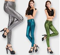 جديد تصميم المرأة مثير bodyon مقياس السمك طباعة نمط سترة عالية الخصر طماق مرنة الجوارب السراويل