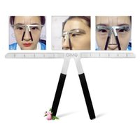 Accurate Eyebrow Ruler With Scale Degree Permanent Makeup Co...