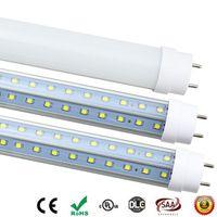 쿨러 도어를 들어 G13 회전 Light 미사용 T8 LED 튜브 4피트 5피트 6피트 8피트 V 자형 더블 양측은 형광등 AC85-265V UL LED