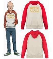 Cotton blended One Punch man Saitama Oppai hoodie Hooded Swe...
