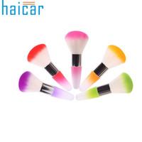 Toptan-Best Deal Haicar Sıcak! Yumuşak Nail Art Toz Fırçası Manikür Aracı Tırnak Fırçası Güzellik Kozmetik Fırça 1 adet
