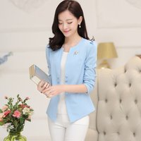 Ladies Blazer Feminino Plus Size Formal Jacket Women' s ...
