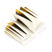 Wholesale- 500pcs / Pack New Professionale acrilico U forma Nail Art Foils Suggerimenti Guida di estensione Sticker per gel fai da te polacco suggerimenti francesi strumenti