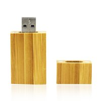 HanDisk Wooden Square Corner Wide USB Flash Drive 1GB 4GB 8G...
