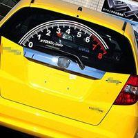 Logo dell'auto-adesivo del tachimetro riflettente dell'automobile per la finestra del veicolo automatico