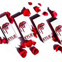 Hot sale KYLIE JENNER Comestics LIP KIT Kylie Lip VALENTINE ...