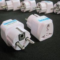 Adaptateur Chargeur universel Voyage Royaume-Uni / Etats-Unis / UA à EU Plug Adapter Convertisseur européen 2 broches d'alimentation CA Prise électrique