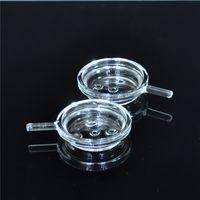 Neues Glas Shisha Shisha Kohle Halter Chicha Tabak-Abdeckung für Glas Shisha Rauchen Tabakkopf Kopf Narguile Nargile-Glasbehälter