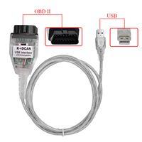 BMW INPA / EDIABAS OBD2用の高品質スイッチ制御K + DCAN USBインターフェイスは診断ツールをスキャンすることができます
