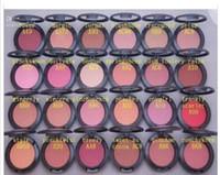 Trucco in polvere Blush con nome con IN BOX 6g (50 pezzi per lotto) 24 colori