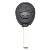 سيارة التصميم 2 أزرار استبدال حالة مفتاح بعيد فوب مفتاح شل مفتاح القضية ل ميني كوبر r53 r50 أنظمة إنذار الأمن