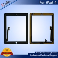 Hot item- For iPad 4 Black Touch Screen Digitizer with Home B...
