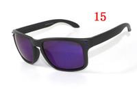 hommes femmes sport lunettes de soleil hommes mat noir rouge signature 9102 mode lunettes de soleil polarisées poly lentille boîte d'origine 55mm dans le cas