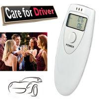 6387 Pflege für die Sicherheit des Laufwerks Pocket Digital Alkoholtestgerät Analysator Alkoholtester Detektor Atemtest Test Tragbarer Alkoholiker
