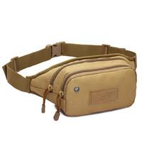 Funda exterior táctica militar Molle cadera cintura de la correa del bolso Monedero caja del teléfono del monedero de la bolsa con cremallera para iPhone6 7