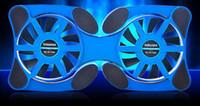 Hot laptop Cooling Pads Foldbale USB Ventole doppie Ventola di raffreddamento Mini Octopus c Pad di raffreddamento Silenzioso Stand per PC portatili da 7 a 14 pollici