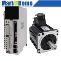 CNC Kit 1.5 KW 7.7Nm 2000rpm 220V AC Servo Driver JASD15002-20B & AC Servo Motor 130JASM5152HK-20B w/ Encoder #SM741 @SD