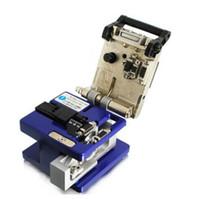 Precisão elétrica do cutelo FC-6S Umitom da fibra e talhador durável da fibra óptica