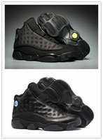 Wholesale with box 13 XIII Black Cat All Black Star 13s MEN ...