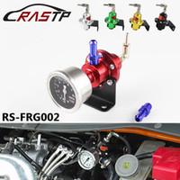 RASTP-Ücretsız Kargo ayarlanabilir SARD stil Turbo yakıt basınç Regülatörü için RX7 S13 S14 Skyline WRX EVO w / o ölçer stok var RS-FRG002