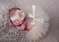 الوليد التصوير الدعائم جميل الرضع حلي الزي الأميرة توتو تنورة مطابقة زهرة عقال طفل صور الدعائم بلون