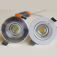 Silver Shell CREE cob 10W Led downlights dimmable led fixtur...