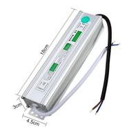 DC12V или 24V 60W IP67 Водонепроницаемый светодиодный источник питания AC100-260V К постоянному току 12V или 24V Выходной светодиодный драйвер Переключатель трансформатора Наружное освещение
