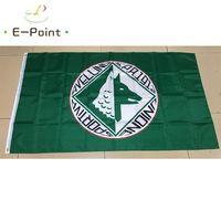 Italia Unione Sportiva Avellino 3 * 5 pies (90 cm * 150 cm) Poliéster Serie B Bandera Decoración de la bandera Volando Home Garden Flag Festive Regalos