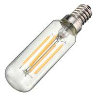 Weinlese-Edison-Birnen-LED Licht E14 T25 4W energiesparende 400Lumen Retro Lampen-Birnen-Leuchter, der reines warmes weißes AC220V beleuchtet