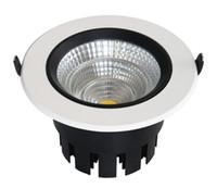 قابل للتعديل 9W 15W 25W 40W عكس الضوء الصمام جولة النازل راحة مصباح السقف 15/24/60 زاوية الشعاع جودة عالية النهاية