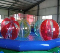 Free Shipping Hot Sale Zorb Ball For People, Inflatable PVC Water Ball, Water Walking Ball For People Walking On Water
