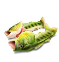 2018 الإبداعية نوع الأسماك النعال امرأة اليدوية شخصية الأسماك الصنادل النساء بلينغ زحافات الشرائح الأسماك النعال الشاطئ