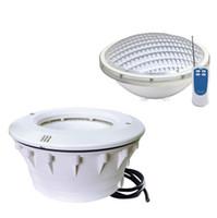 파 56 LED 수영장 빛 12V RGB 원격 제어 화이트 실외 방수 IP68 연못 어지 램프 24W 18W 35W 동기화 CE로시 FCC