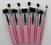 10pcs / Set professionale mini pennelli trucco attrezzi Insiemi Make Up pennelli completa di spazzola cosmetico di ombretto Lip Viso Powder Brush