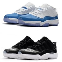 classic 11 11s Low UNC Barons basketball shoes sneakers navy...