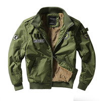 Men Army Tactical Jackets Military Style Clothes Men Winter ...