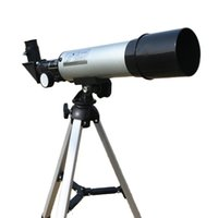 Telescopio astronomico dello spazio monoculare all'aperto di alta qualità Zoom HD con telescopio portatile Treppiede Scope 360 ​​/ 50mm telescopico