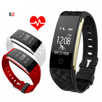 S2 Smart Band Wristband Bracelet Heart Rate Monitor Pedomete...
