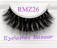 3pcs lot RMZ26 100% real siberian 3d  strip false eyelash lo...