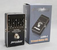 Ücretsiz kargo Aroma AEG 5-band Elektrik Gitar EQ ekolayzır etkisi pedalı Özel Gerçek bypass Yüksek kalite