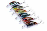Topwater De Pêche Leurres Appât Artificiel Wobbler Attirer Le Poisson-Chat Carpe Bite 4g 45mm Grand Jeu Crankbait Pesca Tackle Crochets