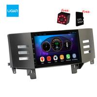 9 بوصة Toyota Mark X Reiz 2005-09 Quad Core 1024 * 600 Android Car GPS Navigation Multimedia Player Radio Wifi
