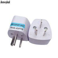 Amvykal Универсальный США Великобритания ЕС Для AU Plug адаптер конвертер Австралия Аргентина путешествия зарядное гнездо 3 Pins адаптер Электрический разъем