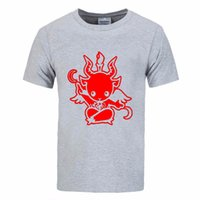Summer Style Satanic Goat Baphomet cartoon T Shirt Men Cotto...