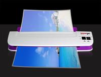 전문 열 Office 핫 및 감기 라 미네 이터 기계 A4 및 A3에 대 한 문서 사진 물집 포장 플라스틱 필름 롤 라미네이터