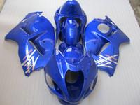 Hochwertiges Verkleidungsset für Suzuki GSXR1300 96 97 98 99 00 01-07 blaues Verkleidungsset GSXR1300 1996-2007 OT16