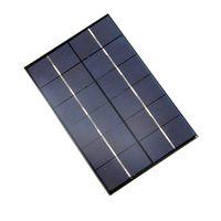 Vendita all'ingrosso! 10 Pz / lotto 4.2 W 6 V Solar Cell Policristallino Modulo Solare FAI DA TE Pannello Solare Caricatore Per La Luce del LED 200 * 130 * 3 MM Spedizione Gratuita