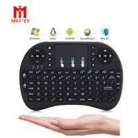 Control remoto inalámbrico Rii I8 Fly Air Mouse Teclado Batería de iones de litio recargable Control remoto inalámbrico para TV Box X96 T95 MXQ M9S M8S T95N