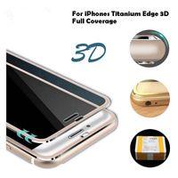 Verre trempé pour iphone8 / 8plus / 7/7 / plus Protecteur d'écran de couverture complète